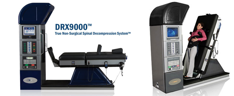 DRX9000 true non-surgical spinal decompression system